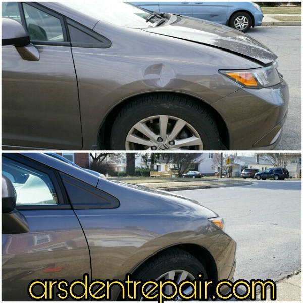 Honda Civic PDR by Ars Dent Repair Baltimore1