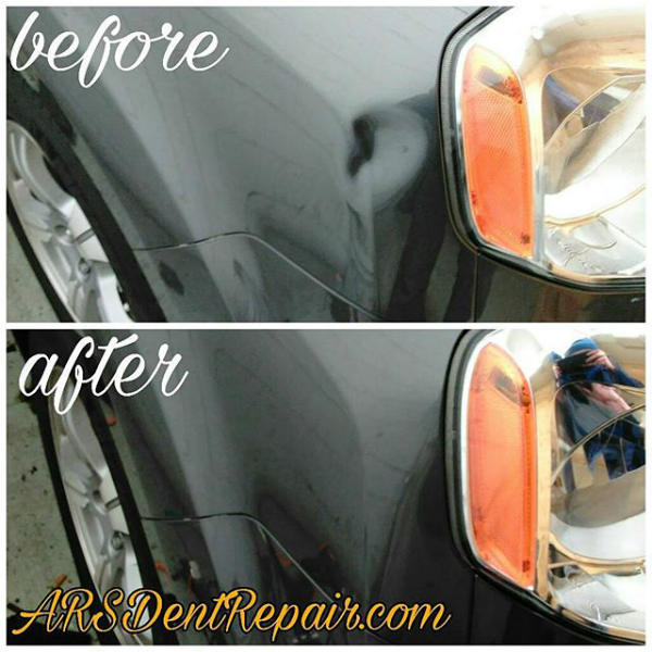Honda Pilot PDR dent removal by ars dent removal baltimore md