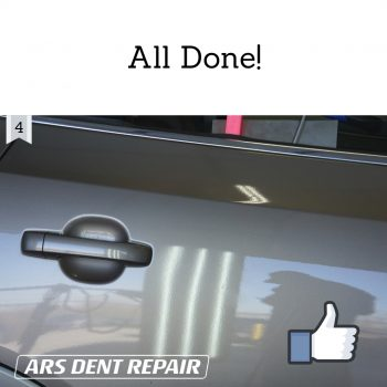 Dent now is removed